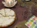A l'Ancien Moulin - Vous connaissez la tarte à la rhubarbe ?