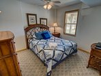 Ground-Level Queen Bedroom, shares access to Hall Bathroom