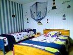 Chambre enfants (lit 120x190- lit 90x190)