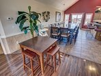 ** The high chairs seen in photos are no longer at the property. If baby equipment is needed local rental options can...