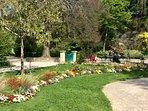 Jardin public de Coutances