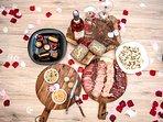 Offrez vous un Repas en Suite, 5 formules repas terroir et gourmandes