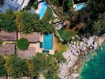 Villa Sunyata - Aerial View from Above