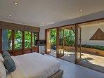 Villa Sunyata - Bedroom #6 with Super King Size Bed