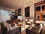 Villa Sunyata - Living Room & Office Space
