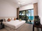 Villa Sunyata - Loft Guest Bedroom with Sea View (Bedroom #7)