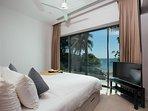 Villa Sunyata - Loft Master Bedroom - Sea View & Balcony (Bedroom #8)