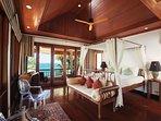 Villa Sunyata - Master Bedroom #2 with Sea View