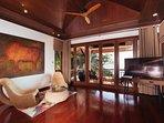 Villa Sunyata - Master Bedroom with Super King Size Bed (Bedroom #1)