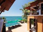 Villa Sunyata - Sea View from the Master Bedroom Terrace (Bedroom #1)