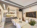 La scuola di cucina per viaggiatori 'Sicilian Culinary Center', vi darà il benvenuto al pianterreno.