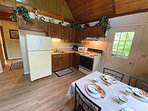 Kitchen: includes Stove, Microwave, Coffee maker and Toaster