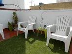 detalle solarium terraza carpè diem