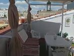 detalle terraza carpe diem con vistas a la ciudad