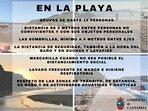 Normas del Gobierno de Cantabria para las playas verano 2020
