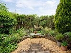 Take in the sights and scents of the garden