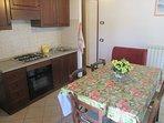 soggiorno/cucina/sala da pranzo appartamento 2