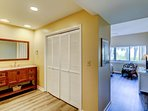 Master bedroom entry