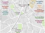 Plan d'accès métro Laennec