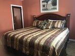 2nd floor master bedroom king bed
