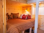 New 'Bunkhouse' Custom Queen Bed with one step