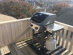 Penthouse side deck - Weber grill