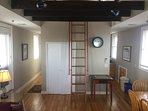 Ship's ladder to loft - penthouse