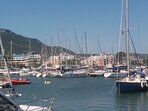 Vista de la vivienda desde el puerto