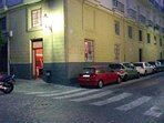 Esquina de ambos apartamentos en plaza España