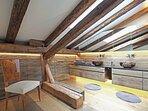Badezimmer 1 im Penthouse Gut Stohrerhof am Ammersee