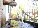 Brunnen Gut Stohrerhof am Ammersee