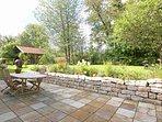 Terrasse im Garten Gut Stohrerhof am Ammersee