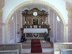Hauskapelle Maria Hilf innen Gut Stohrerhof am Ammersee