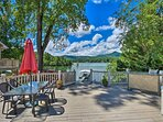 This waterfront Hiawassee vacation rental is the ultimate Chatuge Lake retreat!