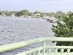 Your view from the bridge of the Loxahatchee River, within walking distance from the house.