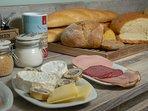 Uitgebreid ambachtelijk ontbijt vegan mogelijk mits reservatie