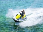 the jet ski is optional and the only toy not included in package