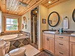 Go for a relaxing soak in the tub!