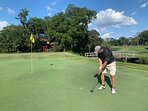 Fantastic golf courses nearby