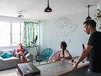 La sala de estar perfecta para hacer amigos