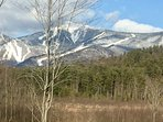 Early Spring View of Whiteface Mountain from Esther Mountain Chalet!