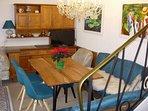 Wohnung 33 Wohn / Esszimmer 2 bis 6 Personen