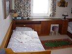 Wohnung 33 Schlafzimmer mit 2 getrennten Betten