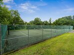 Community Tennis Court & Basketball Court