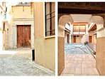 Entrada a la finca Toledana / Entrance to the ancient typical house