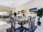 Vacanza Rentals - Villa Sunshine dining area