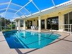 Vacanza Rentals - Villa Sunshine pool area