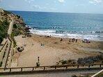 Zonas comunes acceso playa
