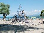 parc à jeux plage