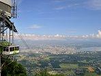 vue panoramique télécabine SALÈVE